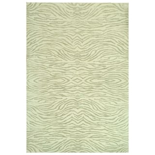 Martha Stewart Journey River Silk/ Wool Rug (7'9 x 9'9)