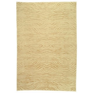 Martha Stewart Journey Desert Silk/ Wool Rug (5'6 x 8'6)