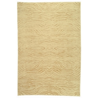 Martha Stewart Journey Desert Silk/ Wool Rug (8'6 x 11'6)