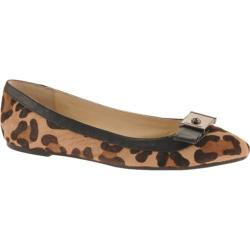 Women's Calvin Klein Parkley Natural/Black Leopard Print Pony