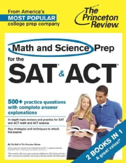 The Princeton Review Math and Science Prep for the SAT & ACT (Paperback)