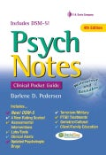 Psych Notes: Clinical Pocket Guide (Spiral bound)