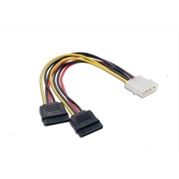 Connectland Molex to SATA Power Splitter Cable