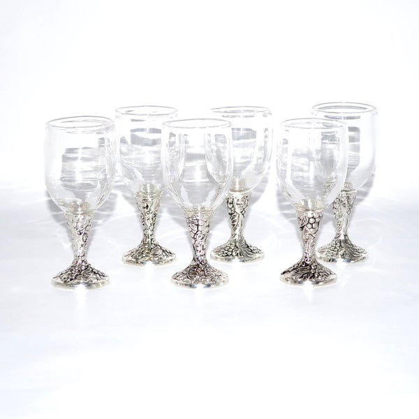 Cordial Glass Wine Glasses (Set of 6)