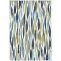 Waverly Sun & Shade Seaglass Rug (5'3 x 7'5)