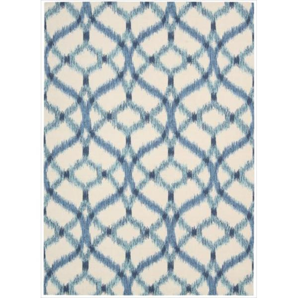 Waverly Sun N' Shade by Nourison Aegean Indoor/Outdoor Rug (5'3 x 7'5)