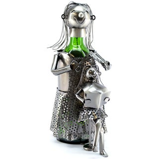 Wine Caddy Lady Hairdresser Wine Bottle Holder