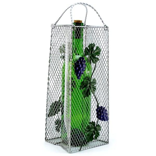 Wine Caddy Grapes Gift Bag Wine Bottle Opener