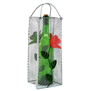 Wine Caddy Flowers Gift Bag Wine Bottle Holder