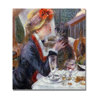 Pierre Renoir 'The Luncheon of the Boating Party' Canvas Art