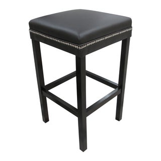 The Ashley Brown Studded Barstool