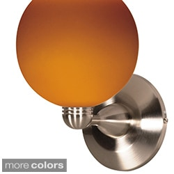 Nuvo 1-light 7-inch Halogen Sphere Wall Sconce