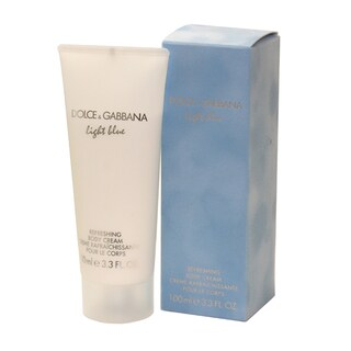 Dolce &amp; Gabbana &#39;Light Blue&#39; Women&#39;s 3.3-ounce Body Cream