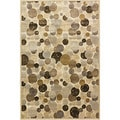 Providence Wishing Well Beige Area Rug (5' x 7'6)