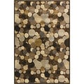 Providence Wishing Well Cocoa Area Rug (5' x 7'6)