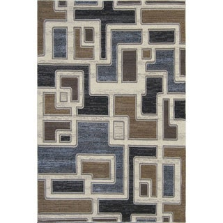 Mystique Jacob Cream Area Rug (7'11 x 10'10)