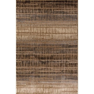 Mystique Grafton Beige Area Rug (7'11 x 10'10)