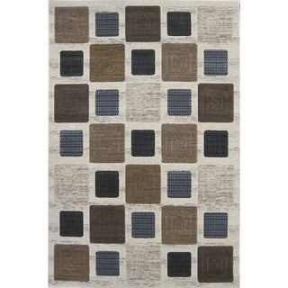 Mystique Harrison Cream Area Rug (7'11 x 10'10)