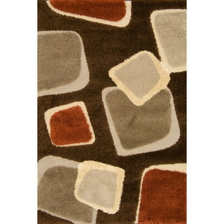 Miracle Demetri Brown Area Rug (7'10 x 9'10)