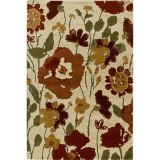 Encore Sienna Spring Meadow Area Rug (5' x 7'7)