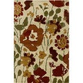 Transitional Encore Sienna Spring Meadow Area Rug (5' x 7'7)