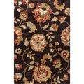 Charlestown Amberly Brown Area Rug (7'10 x 9'10)