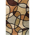 Charlestown Devon Brown Area Rug (7'10 x 9'10)