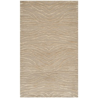 Martha Stewart Journey Desert Silk/ Wool Rug (2'6 x 4'3)