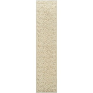 Martha Stewart Ms Surf Dune Silk Blend Rug (2'3 x 10')