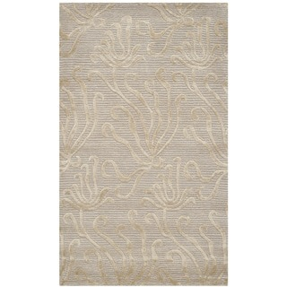 Martha Stewart Seaflora Shell Silk/ Wool Rug (2'6 x 4'3)