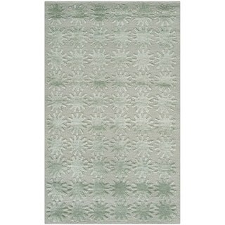 Martha Stewart Constellation Sky Silk/ Wool Rug (2'6 x 4'3)