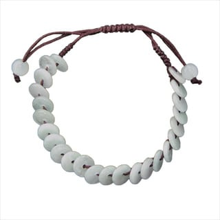 Handmade 'Lifesaver' Jade Bracelet (China)