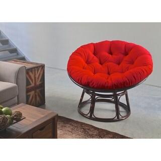 Blazing Needles Papasan 48-inch Twill Cushion