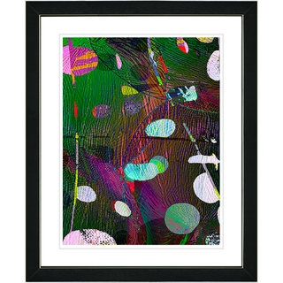Studio Works Modern 'Plyos - Green' Framed Print