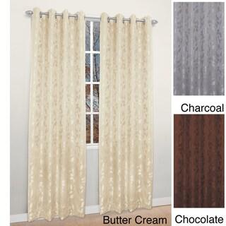 Garden Gate Grommet 84-inch Curtain Panel Pair