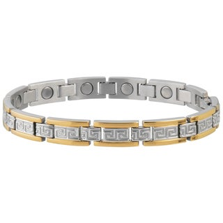 Sabona Lady Greek Key Duet Bracelet