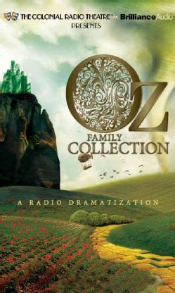 Oz Family Collection: The Wonderful Wizard of Oz / The Marvelous Land of Oz / Ozma of Oz / Dorothy and the Wizard ... (CD-Audio)