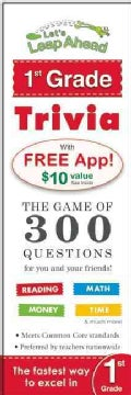 Let's Leap Ahead 1st Grade Trivia: The Game of 300 Questions for You and Your Friends! (Paperback)