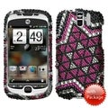 MYBAT Solitaire Diamante Case for HTC myTouch 3G Slide
