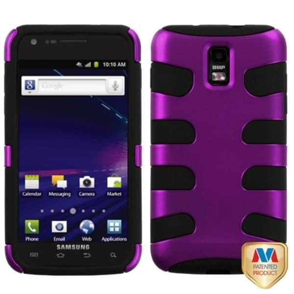 MYBAT Purple/ Black Case for Samsung i727 Galaxy S II Skyrocket