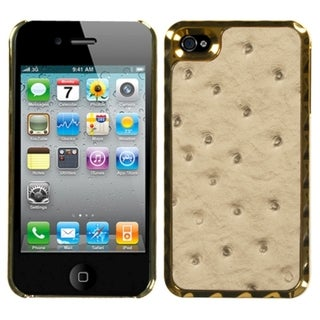 MYBAT Sandybrown Rose Case for Apple iPhone 4/ 4S