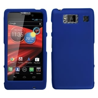 MYBAT Dark Blue Case for Motorola XT926M Droid Razr Maxx HD
