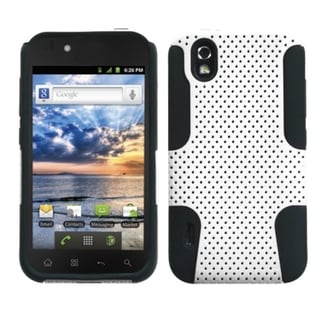 ASMYNA White/ Black Case for LG LS855 Marquee