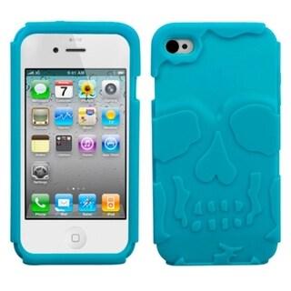 MYBAT Tropical Teal Skullcap Case for Apple iPhone 4/ 4S