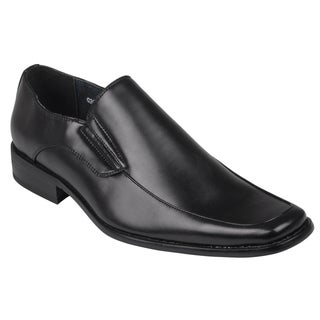 Boston Traveler Men's Square Toe Slip-on Loafers