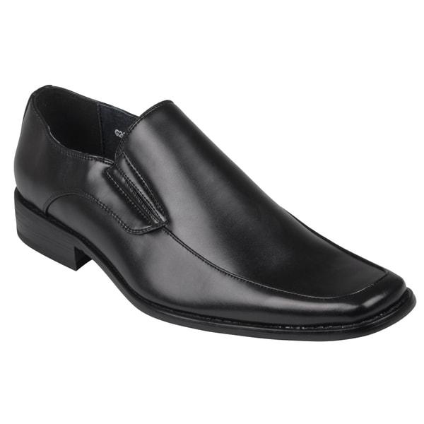 Boston Traveler Men's Square Toe Slip-on Loafers