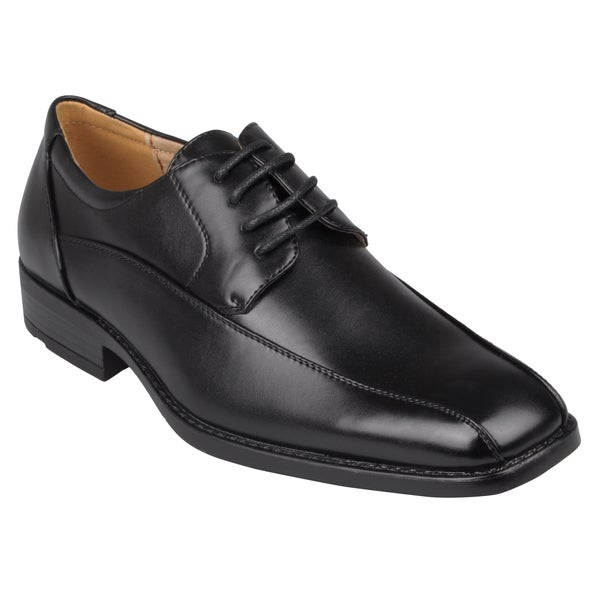 Boston Traveler Men's Square Toe Lace-up Dress Shoes
