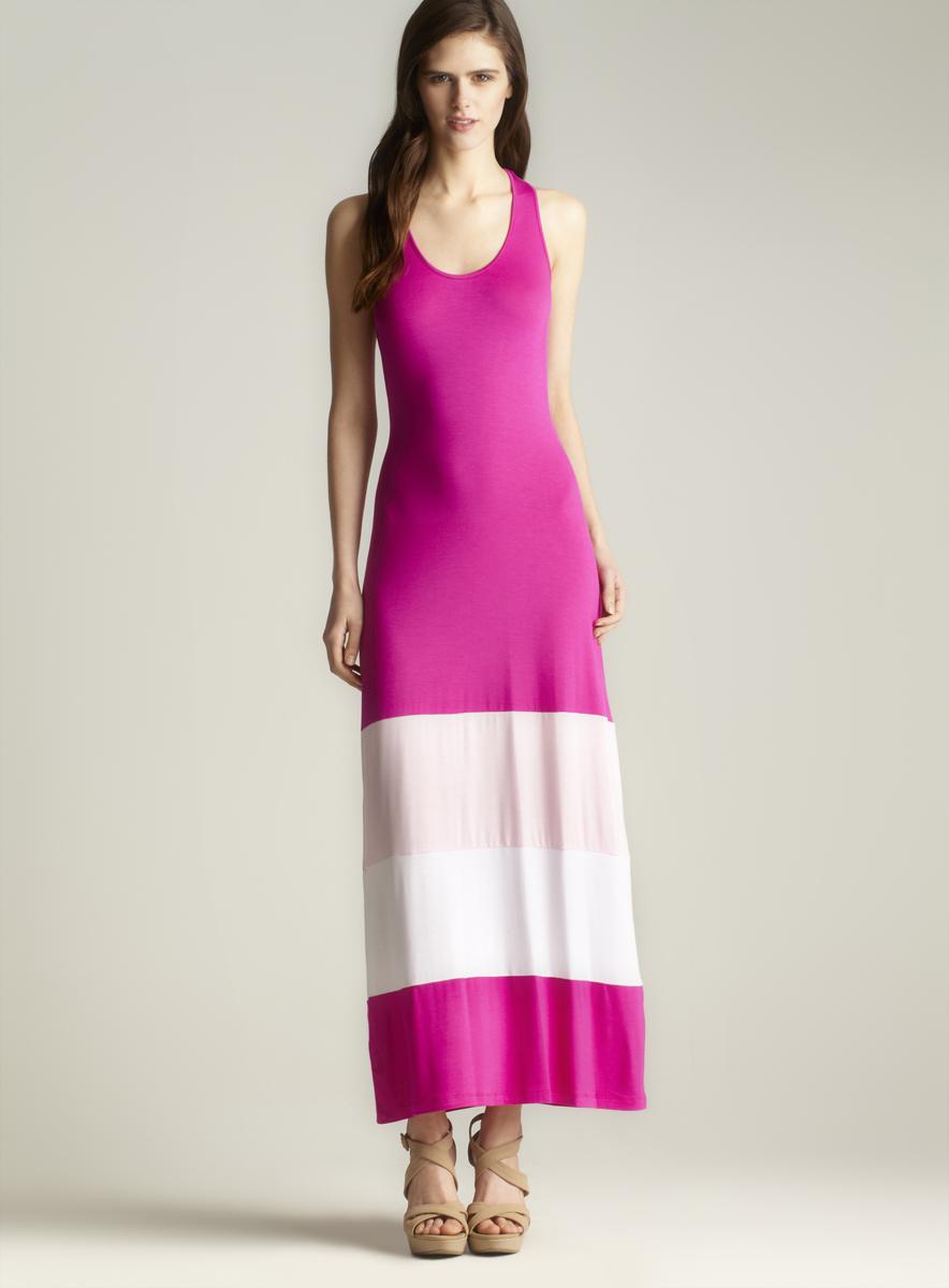Calvin Klein Racerback Maxi Dress