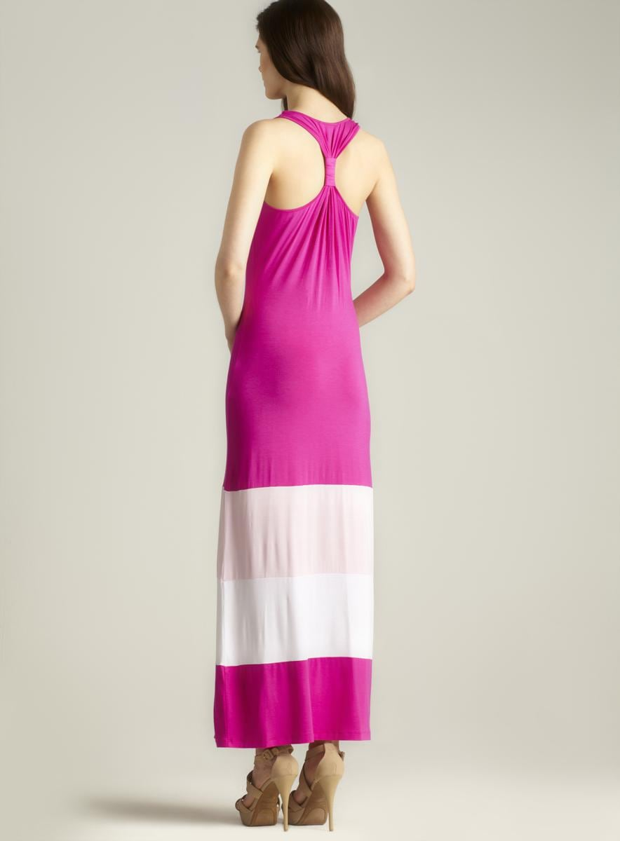 Calvin Klein Racerback Maxi Dress
