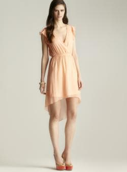 Romeo & Juliet Couture Hi-lo Ruffle Dress
